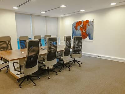 Office for Rent in Sheikh Zayed Road, Dubai - Fitted Office Space   SZR   Latifa Towers
