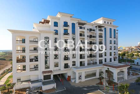 2 Bedroom Flat for Rent in Yas Island, Abu Dhabi - Pristine 2BR+Maid's with Full Sea and Golf Views