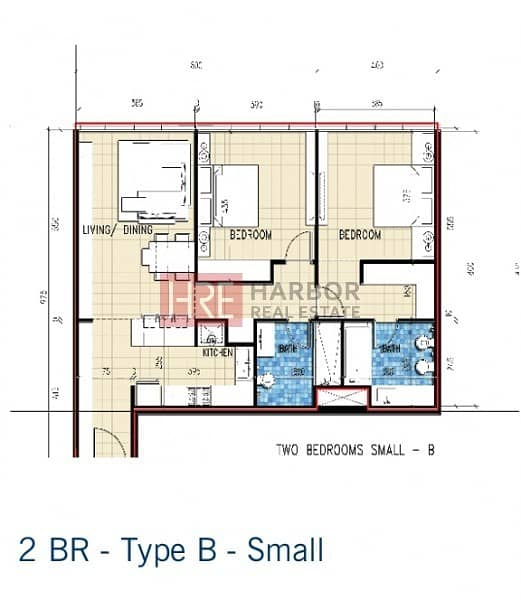 26 Bright and Spacious 2BR | 12 Cheques