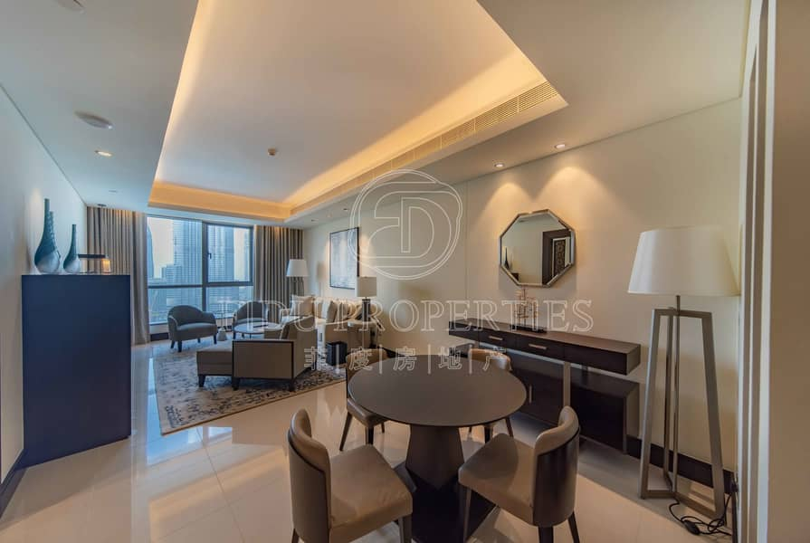 2 Full Burj & Fountain View | All Inclusive
