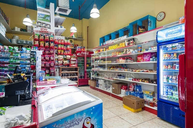 2 Shop Space For Sale Rented to Running Grocery Store