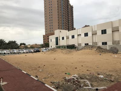 Plot for Sale in Al Nuaimiya, Ajman - Commercial land next to the alhekmaa school  ground + 10 floors