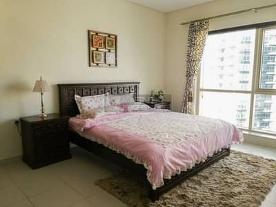 2 Bedroom Flat for Rent in Dubai Marina, Dubai - Beautiful|Furnished 2BR with Big Balcony