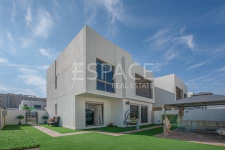 4 Bedroom Villa for Sale in Town Square, Dubai - Zahra - Exclusive - Backing Pool and Park