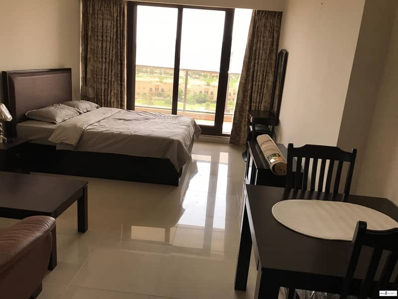 Furnished Studio For Rent In Elite Residence 10 Dubai Sport City