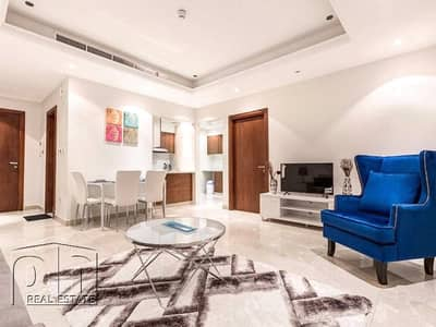 1 Bedroom Flat for Rent in Dubai Marina, Dubai - Full Marina View - 1 Bedroom - Furnished