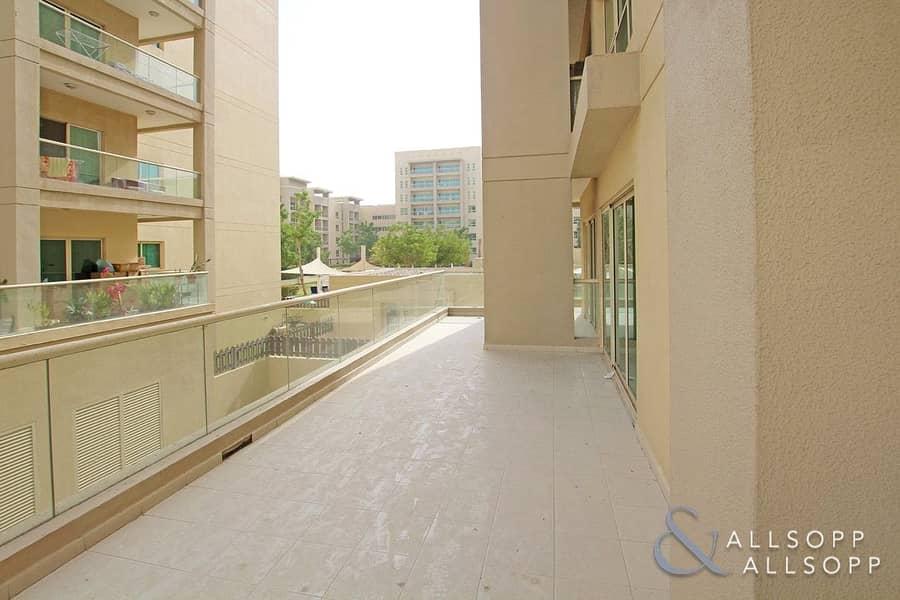 Large Balcony | Two Bedroom | Al Arta 1