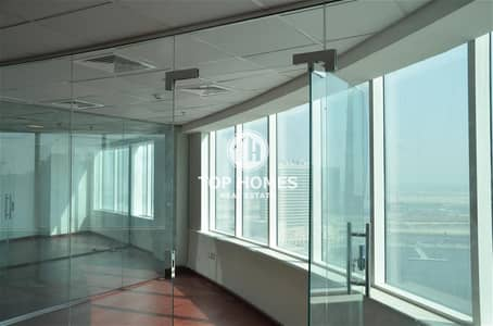 Office for Sale in Business Bay, Dubai - Good Size & Fully Fitted Office with Partitions