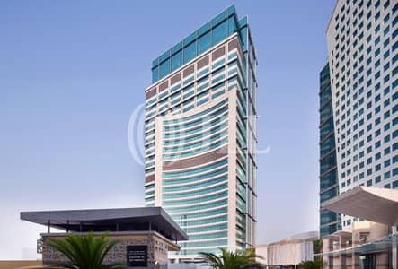 مکتب  للايجار في دبي فيستيفال سيتي، دبي - Fitted Office for Rent - Festival Tower