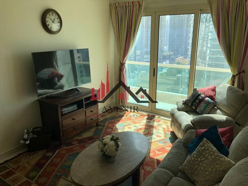 Fully Furnished|High Floor| Dubai Marina