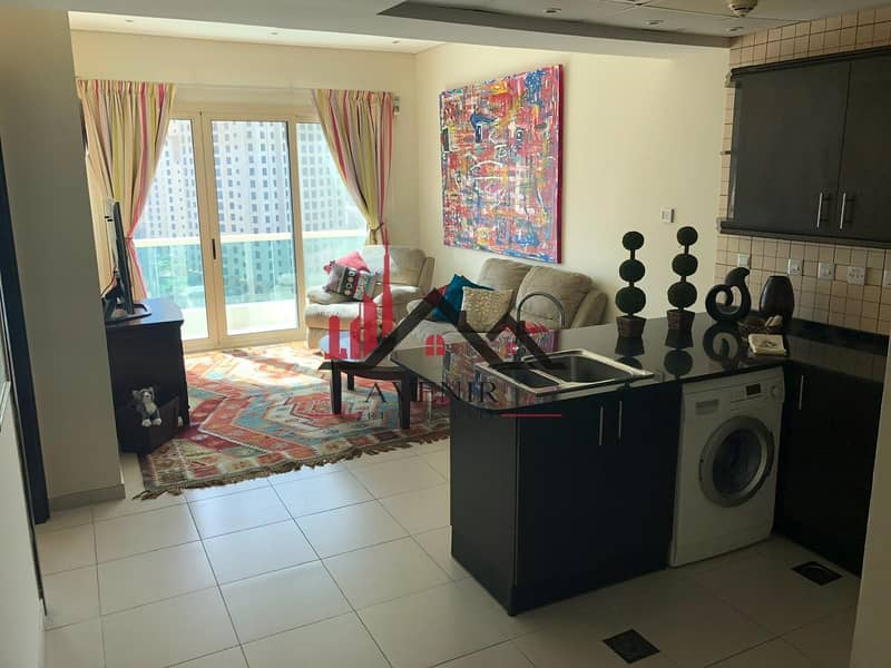 2 Fully Furnished|High Floor| Dubai Marina
