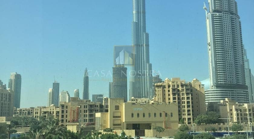 Vacant 2BR with Full Burj khalifa View in Burj Views Tower C