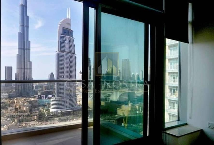 2 Vacant 2BR with Full Burj khalifa View in Burj Views Tower C