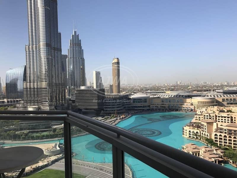 10 Full Burj Khalifa & Fountain View | Best Unit