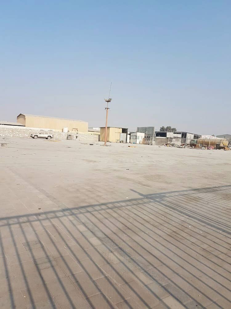 40,000 SQFT OPEN LAND WITH 2 OFFICES IN IND AREA NO. 5