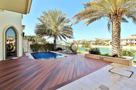 4 Bedroom Villa for Rent in Palm Jumeirah, Dubai - Fully Furnished   Extended Plot   Upgraded