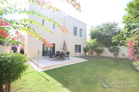 3 Bedroom Villa for Rent in The Lakes, Dubai - Upgraded - Deema 2 - Opposite Pool & Park