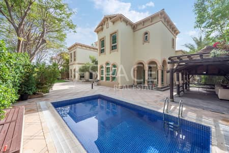 5 Bedroom Villa for Rent in Jumeirah Islands, Dubai - Immaculate - Fully Upgraded - Masterview