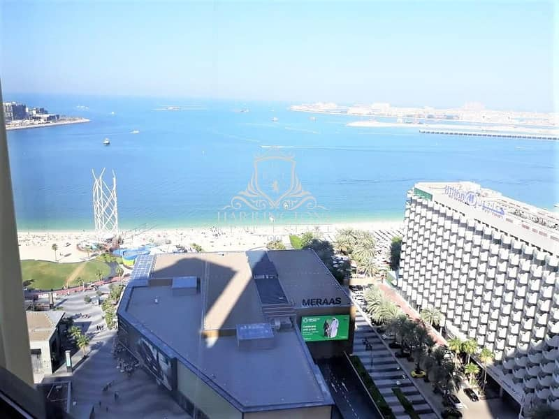 Sea View and Pool View Apartment for Sale in JBR