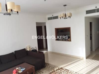 2 Bedroom Apartment for Rent in Jumeirah Lake Towers (JLT), Dubai - Exclusive|Vacant 1st April|Wooden Flooring