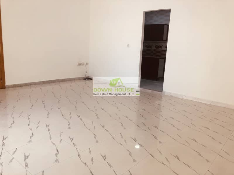 2 Big studio flat in khalifa city A .