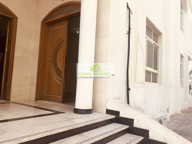 14 Big studio flat in khalifa city A .