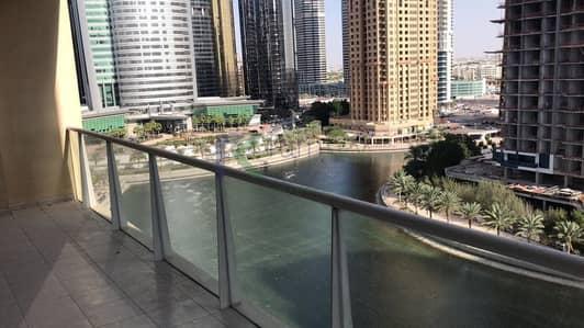 2 Bedroom Apartment for Rent in Jumeirah Lake Towers (JLT), Dubai - Spacious Full Lake View Apartment in JLT