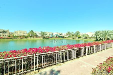 5 Bedroom Villa for Rent in The Meadows, Dubai - Full Upgraded - Private Pool - Lake View