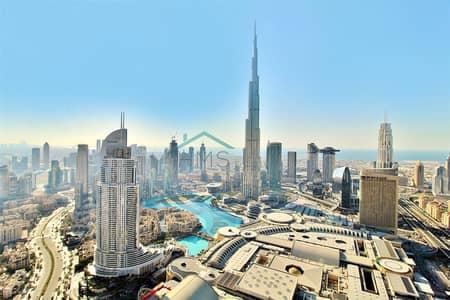 شقة 4 غرفة نوم للبيع في وسط مدينة دبي، دبي - 4Bed + Maid | Penthouse | Sky Collection