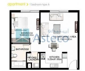 13 Al Badrah 1 BR/ One Month Rent Free for Rent in waterfront