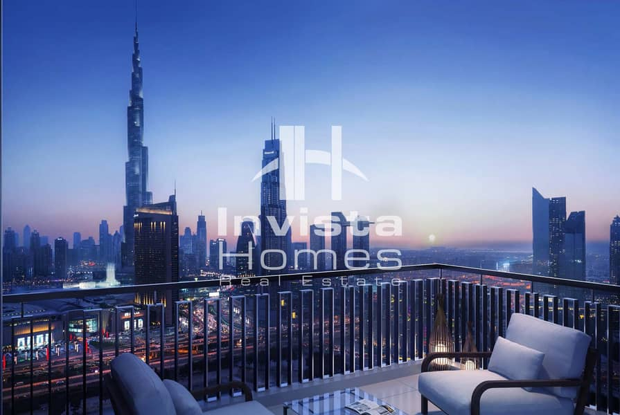 2 Amazing Views | High Floor | Off plan | Downtown Dubai