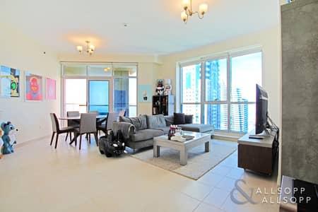 3 Bedroom Apartment for Sale in Dubai Marina, Dubai - Sea and Palm Views | Vacant | 3 Bedrooms