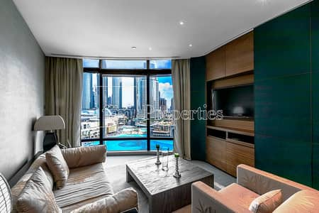 1 Bedroom Apartment for Rent in Downtown Dubai, Dubai - Views of the Fountain from Every Room!