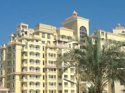 1 Bedroom Apartment for Rent in Al Hamra Village, Ras Al Khaimah - FOR RENT EXECUTIVE 1 BED SEAVIEW FLAT WITH BIG BALCONY