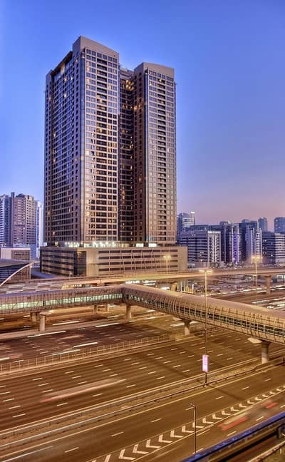 2 Bedroom Apartment for Rent in Barsha Heights (Tecom), Dubai - Two Bedroom Hotel Apartment Skyline View