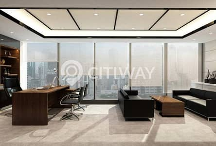 Huge Furnished Office in Latifa Tower on Sheikh Zayed