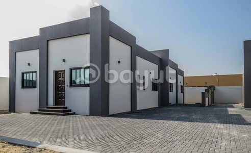3 Bedroom Villa for Sale in Al Maqtaa, Umm Al Quwain - Opportunity for comfortable housing and secured investment -Gated Compound For sale