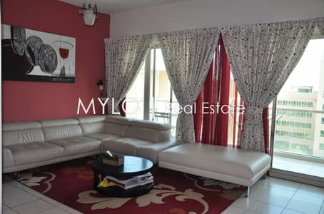 2 Bedroom Apartment for Sale in The Greens, Dubai - Rented Full Pool facing 2 Bed with Study
