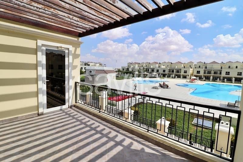 2 Brand new pool view unit in Bayti
