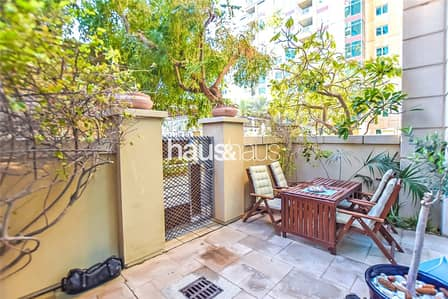 1 Bedroom Apartment for Sale in Dubai Marina, Dubai - Large 1 Bed + Study with Private Garden| Rented