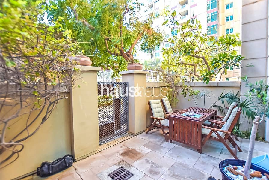 Large 1 Bed + Study with Private Garden| Rented