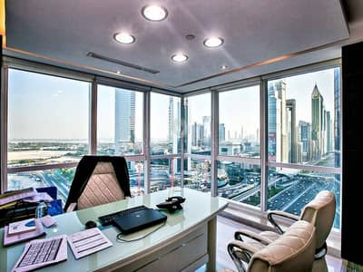 Large Fully Fitted Office - Latifa Tower