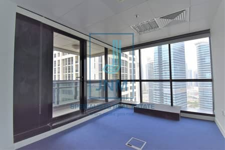 Office for Rent in Jumeirah Lake Towers (JLT), Dubai - Fitted w/ Partition office space in JBC3