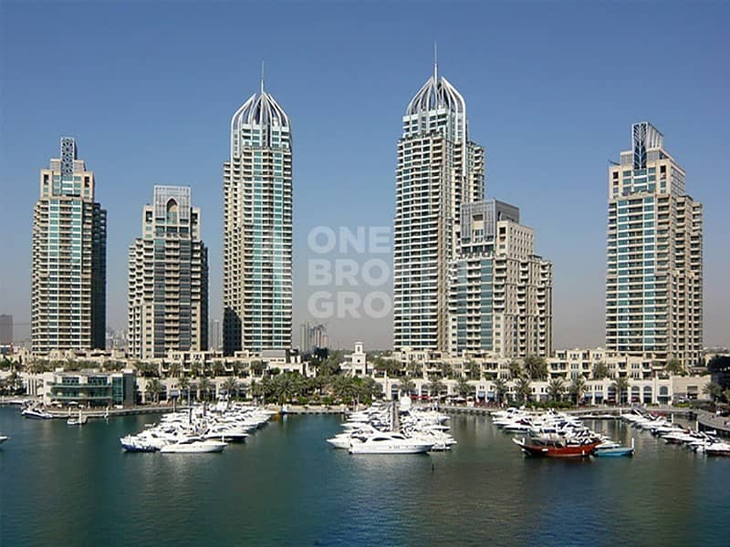 10 Marina & SZR View 4 BR W/ Maids Room -Rented