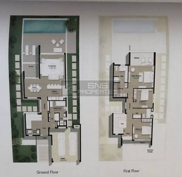 11 Spacious 3BR+M villa available in Sidra3