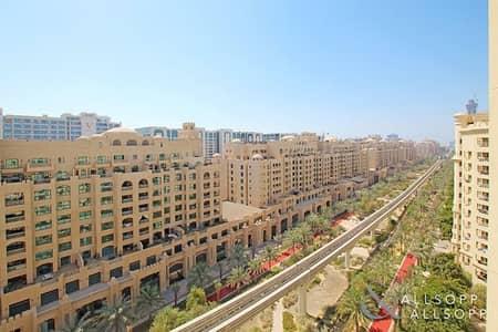 فلیٹ 2 غرفة نوم للايجار في نخلة جميرا، دبي - Exclusive | F Type | Beach | Park Facing
