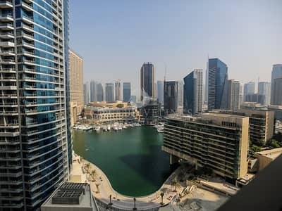 1 Bedroom Apartment for Sale in Jumeirah Beach Residence (JBR), Dubai -  Bright 1 bed with Marina view