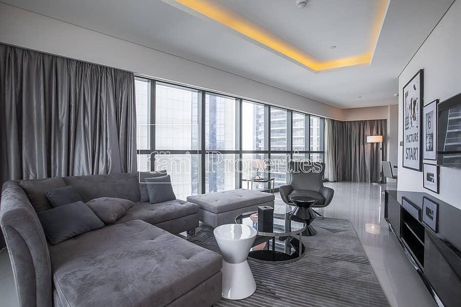 2 2BR Spacious Hotel Apartment | Paramount