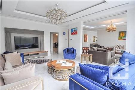 فیلا 5 غرفة نوم للبيع في السهول، دبي - Hattan / Luxury / Upgraded / Extended / Lake View