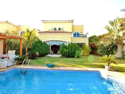 4 Bedroom Villa for Rent in Jumeirah Park, Dubai - Fully Upgraded -  Legacy  - Private Pool